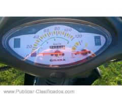 Moto Gilera Smash, llantas de aleación, freno a disco delantero, arranque electrico, mod 2015