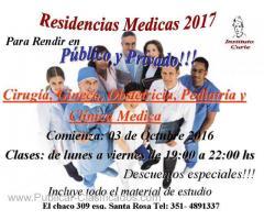 RESIDENCIAS MEDICAS 2017