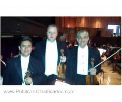 Violinistas profesionales eventos y cocnierto