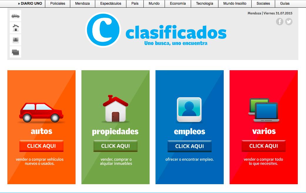 Clasificados diario uno publicar clasificados for Anuncios clasificados gratis