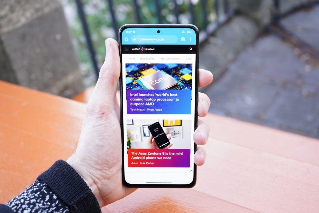 El frontal y la pantalla del Xiaomi Mi 11i