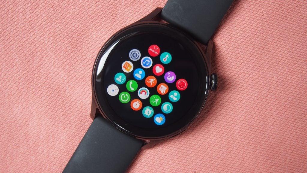 Galería de aplicaciones de pantalla de inicio de Huawei Watch 3