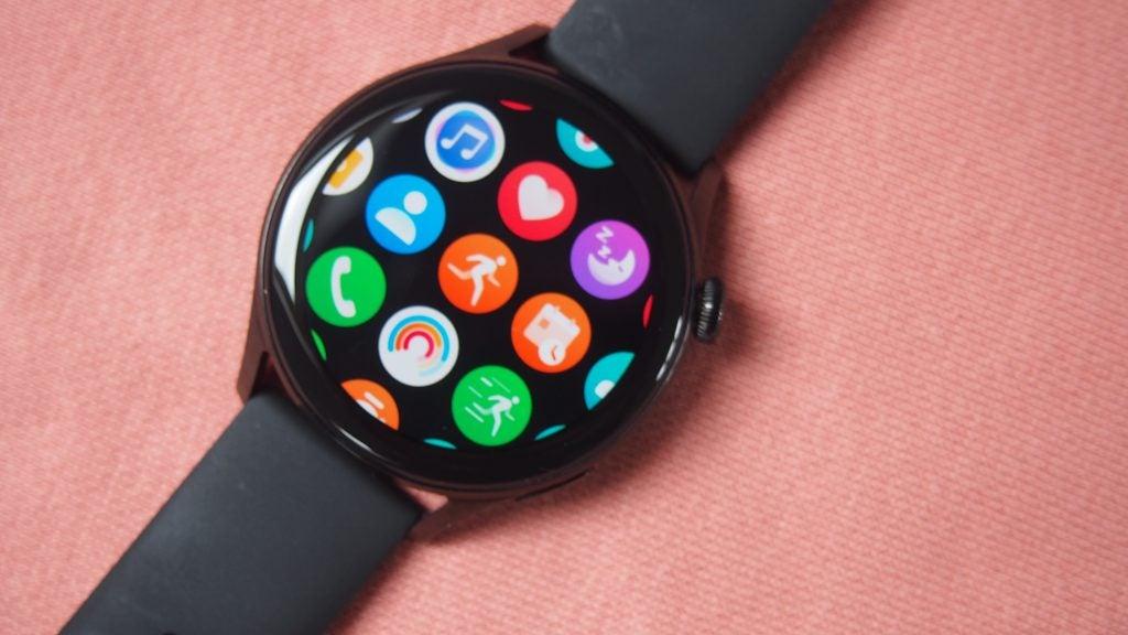 Huawei Watch 3 mostrando las aplicaciones