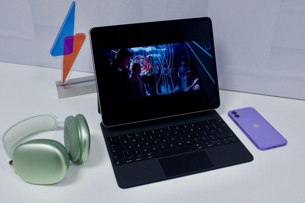 iPad Pro reproduciendo video HDR